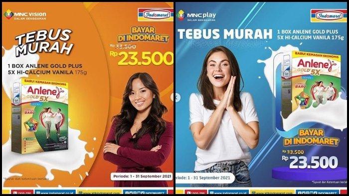 Promo Indomaret Selasa 28 September 2021, Tebus Susu Anlene dengan Harga Rp 23.500, Ini Syaratnya