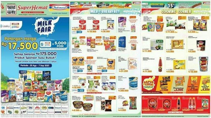 Promo Indomaret Hari ini Kamis 26 Agustus 2021, Belanja Hemat, Dapatkan Potongan Harga Rp 17.500