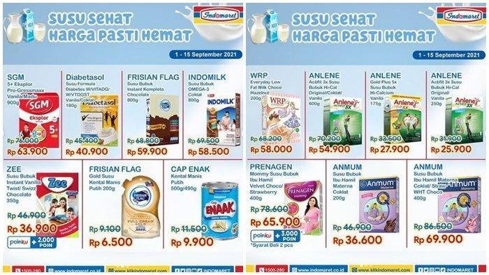 Promo Indomaret Hari ini Sabtu 11 September 2021, Belanja Minyak Telon dan Susu di Akhir Pekan Hemat