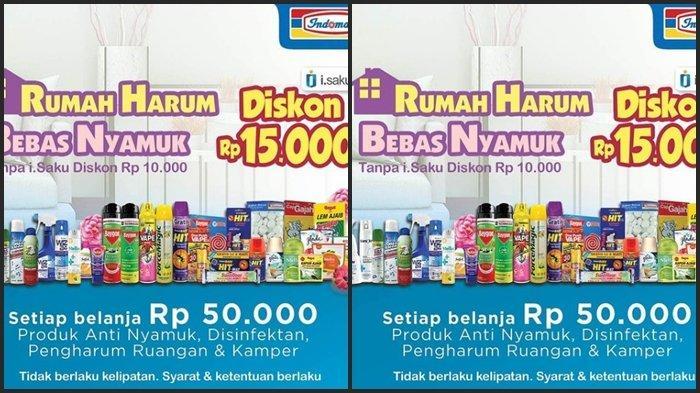 KATALOG PROMO Indomaret Senin 5 April 2021, Belanja Bulanan Hemat, Dapatkan Diskon hingga Rp 15.000