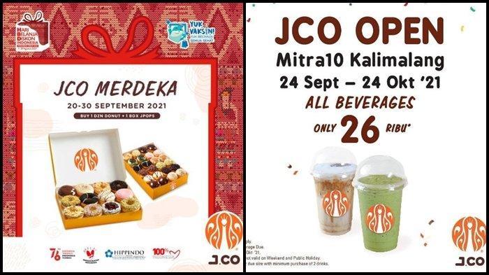 Promo J.CO Hari ini Senin 27 September 2021, 12 Donut + 1 Box JPOPS dengan Harga Rp 115.000
