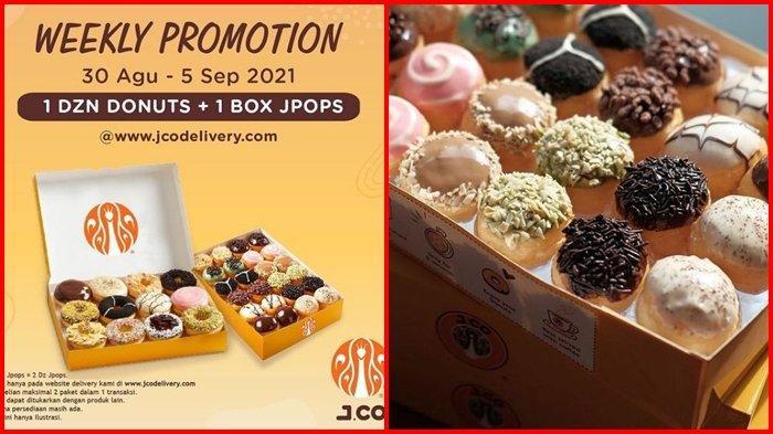 Promo J.CO Hari ini Rabu 1 September 2021, Makan Donat Bersama Keluarga di Awal Bulan Murah