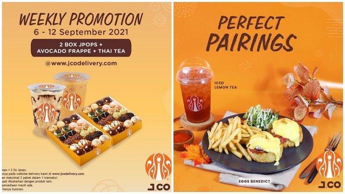 Promo J.CO Hari ini Rabu 8 September 2021, Dapatkan 2 Box JPOPS & 2 Minuman dengan Harga Rp 149.000