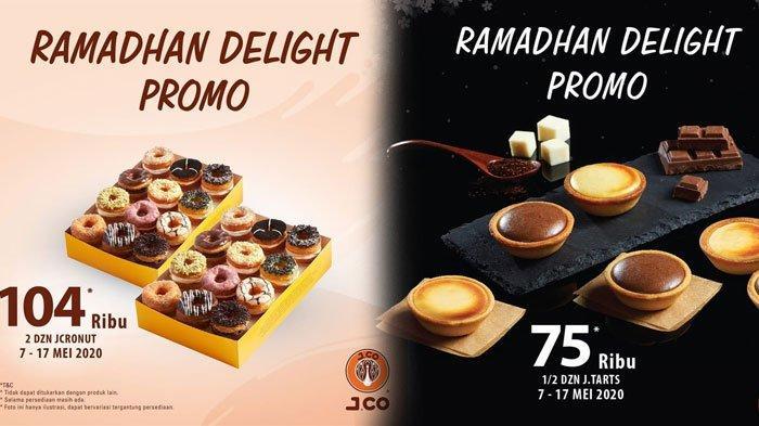 PROMO JCO Ramadhan Delight Sampai 17 Mei, JTart 6 Pcs Rp 75 Ribu, 2 Lusin JCronut Hanya Rp104 Ribu