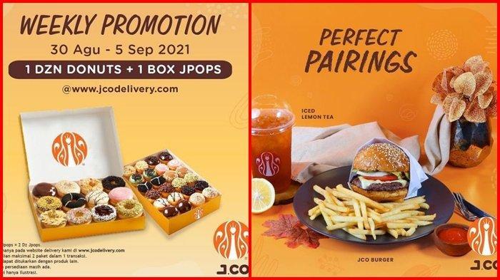 Promo J.CO Hari ini Selasa 31 Agustus 2021, 1 Lusin Donut + 1 Box JPOPS dengan Harga Rp 115.000