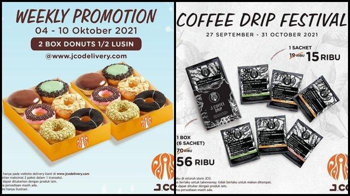 Promo J.CO Hari ini Rabu 6 Oktober 2021, 1 Lusin Donuts dengan Harga Spesial hanya Rp 85.000