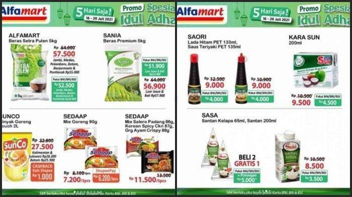 Promo JSM Alfamart Hari ini Sabtu 17 Juli 2021, Belanja Super Hemat Menjelang Hari Raya Idul Adha