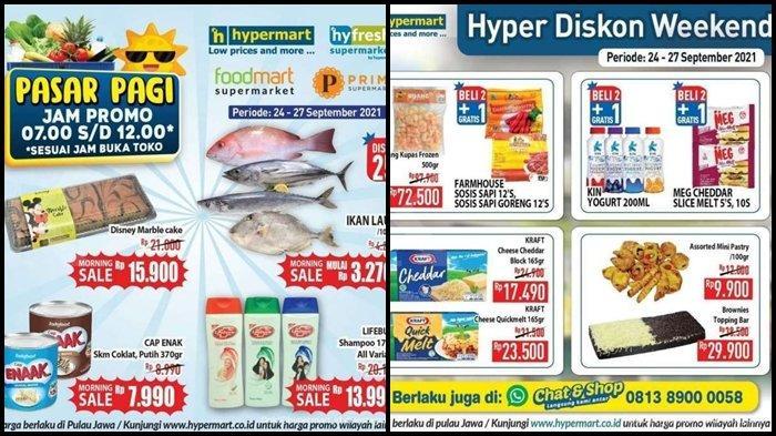 Hari Terakhir Promo Hypermart Periode 24-27 September 2021, Belanja Kebutuhan di Pagi Hari Murah