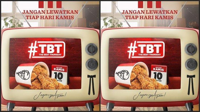 Promo KFC Hari ini Kamis 17 Juni 2021, Dapatkan 10 Potong Ayam dengan Harga Rp 90.000