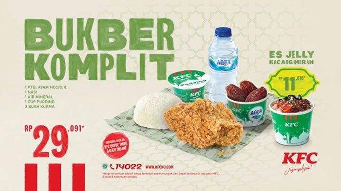 Promo KFC Weekend Crazy Deal hingga Bukber Komplit untuk Buka Puasa Rp 29.091, Berakhir 31 Mei 2020
