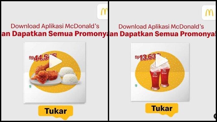Promo McD Hari ini Selasa 12 Oktober 2021, 1 Potong Ayam Rp 5.000 dan Makan Kentang Super Hemat