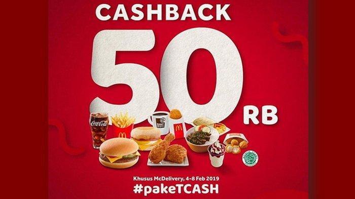 Promo McDonalds - Bayar Pakai TCASH Dapat Cashback Rp 50 Ribu, Cek Syarat dan Ketentuannya!