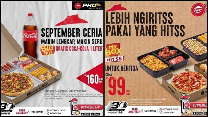 Promo Pizza Hut Hari ini Senin 20 September 2021, Makan Enak Bertiga dengan Harga Rp 99.000