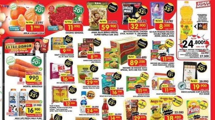 Katalog Promo Superindo Hari ini Selasa 24 Agustus 2021, Belanja Minyak Goreng & Pampers Anak Murah