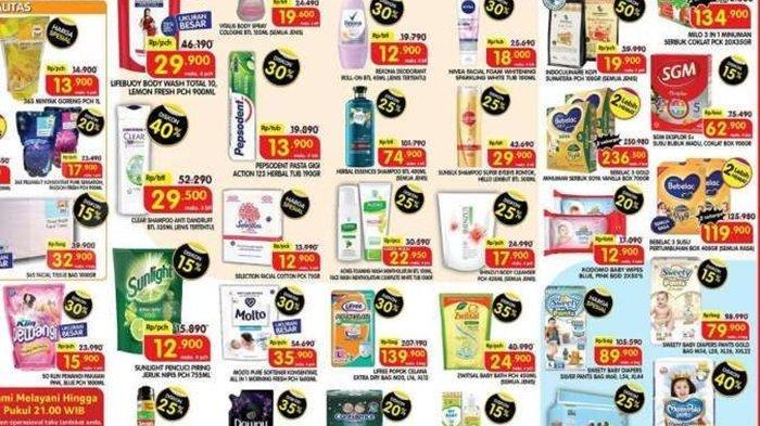BARU Promo Superindo Jumat 24 September 2021, Belanja Shampoo hingga Pampers Anak Diskon 40 %