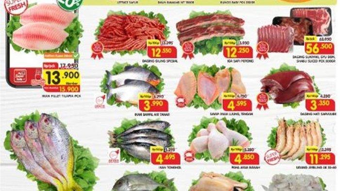 Promo Superindo Hari ini Sabtu 9 Oktober 2021, Belanja Ikan, Ayam hingga Daging Segar Super Murah