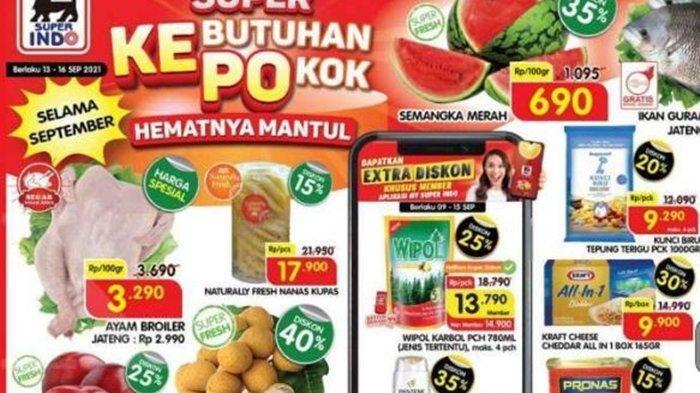 Promo Superindo Hari ini Kamis 16 September 2021, Harga Spesial Ayam Broiler dan Diskon hingga 40 %