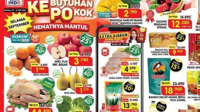 Promo Superindo Hari ini Sabtu 11 September 2021, Minyak Goreng, Ayam hingga Pampers Anak Murah