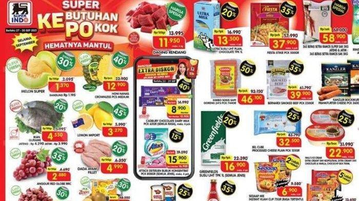 Hari Terakhir Promo Superindo Periode 27-30 September 2021, Dada Ayam, Buah Anggur dan Nugget Murah