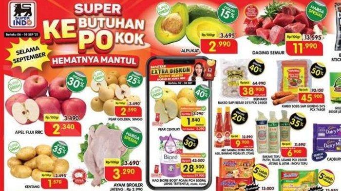 BARU Promo Superindo Senin 6 September 2021, Belanja Kebutuhan Pokok Hemat, Ayam Broiler Super Murah