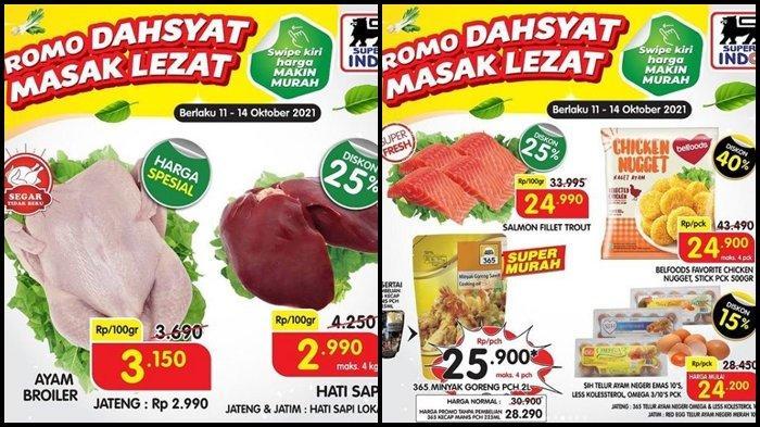 Promo Superindo Hari Terakhir Periode 11-14 Oktober 2021, Belanja Ikan Salmon & Ayam Broiler Murah