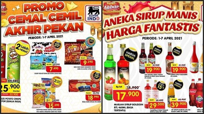 TERBARU Katalog Promo Superindo Senin 5 April 2021, Belanja Daging, Sirup dan Camilan Super Murah