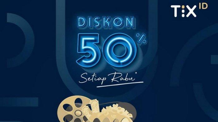 Promo Tiket Nonton TIX ID - Diskon 50% untuk Semua Jenis Film pada Pembelian Tiket Pertama