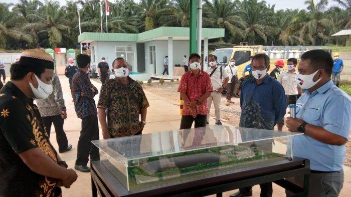 PT Dharma Satya Nusantara Tbk meresmikan BIO - CNG Plant yang pertama dan satu-satunya di Indonesia, berlokasi di area perkebunan kelapa sawit di Kecamatan Muara Wahau, Kabupaten Kutai Timur, Provinsi Kalimantan Timur pada Kamis (17/9/2020).