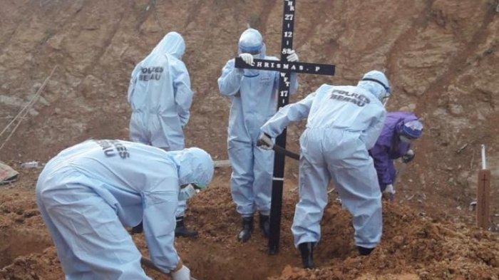 Kasus Kematian akibat Covid-19 Tinggi di Berau, Persediaan Kantong Jenazah Menipis