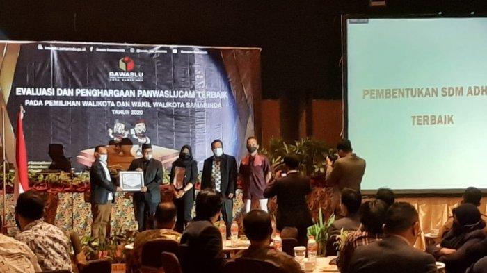 Inilah Daftar Daerah Penerima Penghargaan Panwascam Terbaik di Kota Samarinda