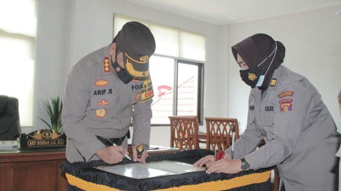 Kasiwas Polresta Samarinda AKP Zainal Arifin Jabat Kapolsek Samarinda Ulu