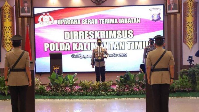 Pejabat Dir Reskrimsus Polda Kaltim Berganti, Kini Dijabat Kombes Pol Indra Lutrianto Amstono