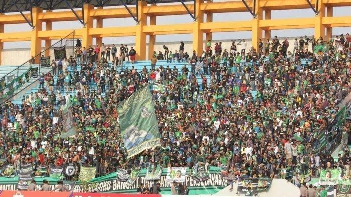 Suporter PSIS dan Persebaya Nekat Masuk ke Stadion, Dominasi Jumlah Bonek Bikin Tim Tamu Menang?