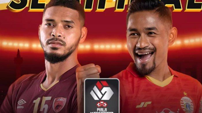 HASIL Skor Imbang! Tonton Indosiar Live Piala Menpora, Live PSM vs Persija, Skor Persija vs PSM