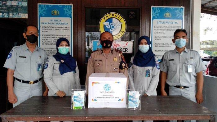 Angka Kecelakaan Naik selama Lebaran, PT Jasa Raharja Berikan Santunan ke Korban Laka di Kaltimtara