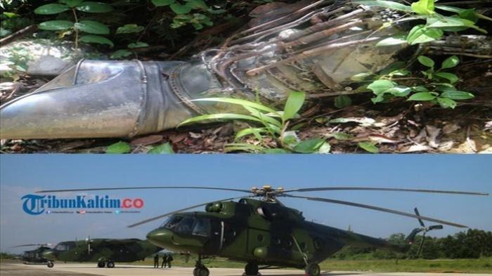 Prajurit TNI di Perbatasan Mahulu Sempatkan Ziarah ke Lokasi Helikopter Jatuh, Ini Suasana Mistisnya