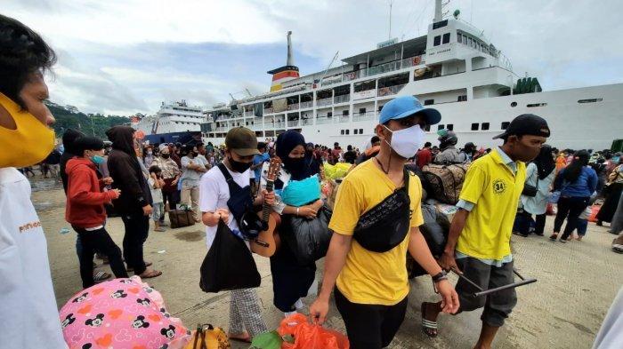 Puncak Arus Balik Natal dan Tahun Baru 2021 di Samarinda, Pelabuhan Padat, Tengok Kondisinya