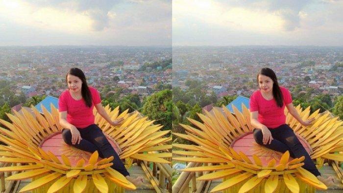 Puncak Baumbem, objek wisata baru yang menawarkan pemandangan indah Kota Samarinda dilihat dari atas bukit. Puncak Baumbem terletak di kawasan Loa Janan, Samarinda Ilir, Kalimantan Timur.