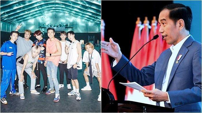 Follow 11 Instagram, Ternyata Super Junior Ngikutin Presiden Jokowi, Ngefans?
