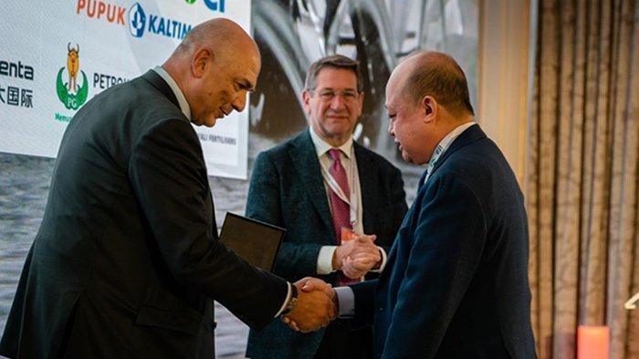 Pupuk Kaltim Raih Penghargaan IFA's Industry Stewardship Award
