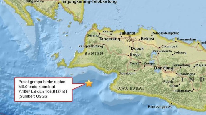 Gempa Mengguncang Ibukota, Begini Suasana Menegangkan yang Dibagikan Netizen