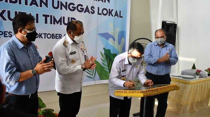 Sambut HUT ke-22 Kutim, KPC Resmikan Pusat Pembibitan Unggas Lokal Berkapasitas 6.000 Ekor Indukan