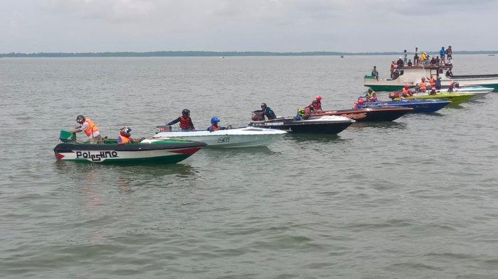 Balapan Speedboat IPSS Race Boat Cup I, Ajang Memeriahkan HUT ke-9 Provinsi Kaltara