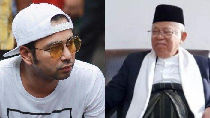 Raffi Ahmad Ajak Ma'ruf Amin Nge-vlog, Ini yang Mereka Bicarakan