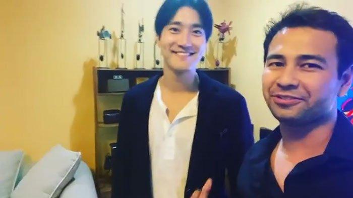 Raffi Ahmad jadi Investor Jika Siwon Buat Bisnis di Indonesia, Sang Idol Kaget Sampai Tutup Muka