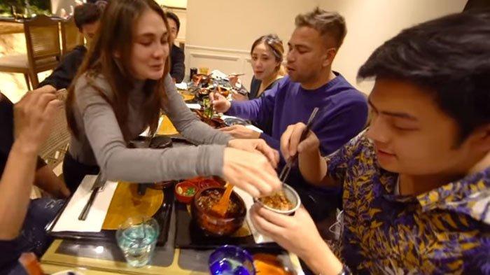 Raffi Ahmad Makan Bareng Jerome Polin, Luna Maya Beraksi Gombali Youtuber Muda Sampai tak Berkutik