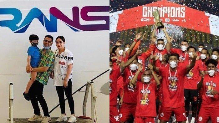 Update Liga 1 - RANS Entertainment Resmi Gandeng Persija Jakarta, Ini Target Raffi Ahmad