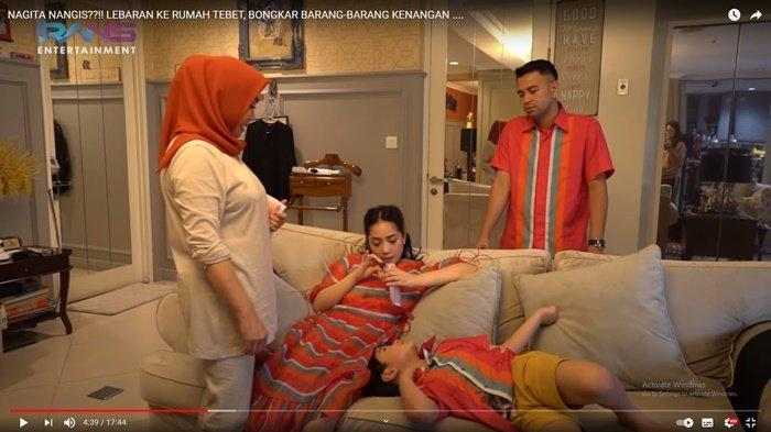 Isi Amplop THR Mama Rieta untuk Rafathar, Nagita Slavina dan Raffi Ahmad Kaget: Wah Dapat Dollar