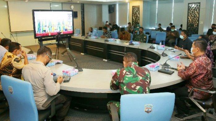 Pjs Gubernur Kaltara Ikuti Rakor Analisa dan Avaluasi ke-2 Pilkada