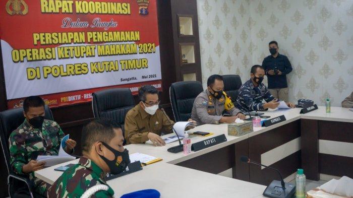 Kapolres Kutim Ingatkan 3 Hal Penting dalam Operasi Ketupat Mahakam 2021, Pantai Kenyamukan Ditutup